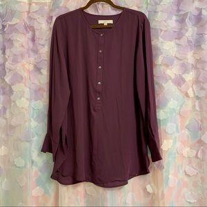 LOFT Purple tunic